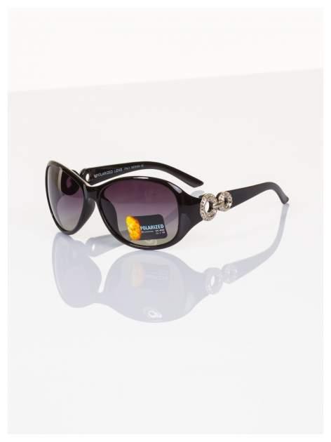 POLARYZACJA Eksluzywne o owalnym kształcie włoskie okulary z dymioną soczewką+GRATISY                                  zdj.                                  2
