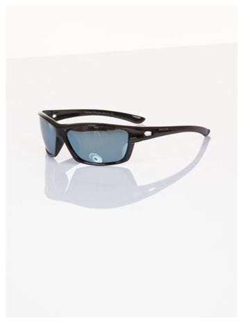POLARYZACJA PIRUS spotrowe okulary z szarymi lustrzanymi szkłami +GRATISY