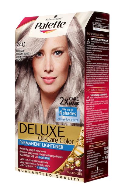 """Palette Deluxe Farba do włosów permanentna nr 240 Popielaty Chłodny Blond  1op."""""""