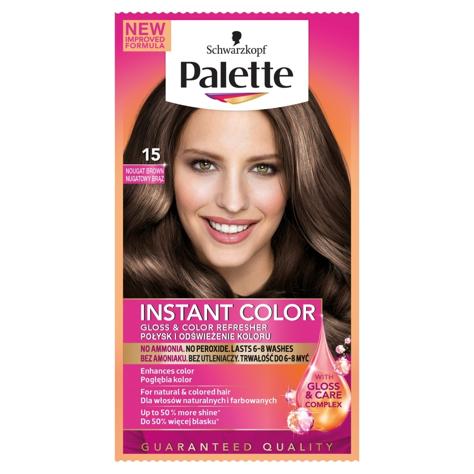 """Palette Instant Color Szamponetka koloryzująca Nugatowy Brąz nr 15  1szt"""""""