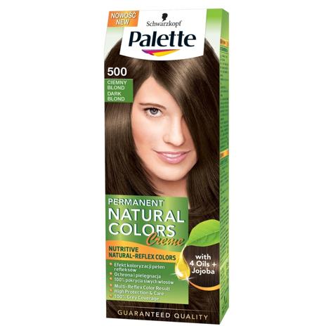 """Palette Permanent Natural Colors Ciemny Blond nr 500  1op."""""""