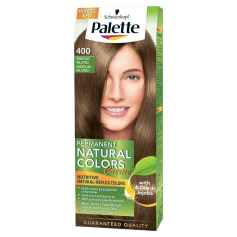 """Palette Permanent Natural Colors Średni Blond nr 400  1op"""""""