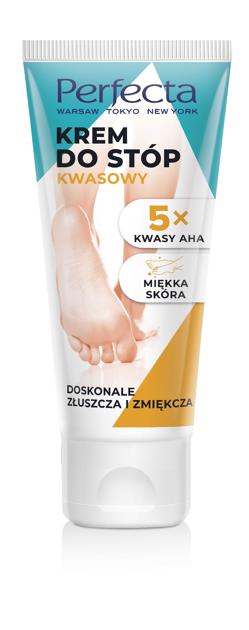 """Perfecta Krem do stóp kwasowy - 5x kwasy AHA  80ml"""""""