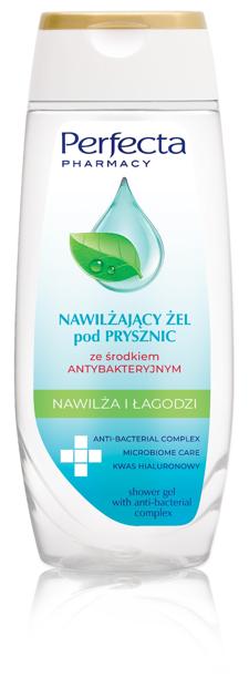 """Perfecta Pharmacy Nawiżający Żel pod prysznic ze środkiem antybakteryjnym  250 ml"""""""