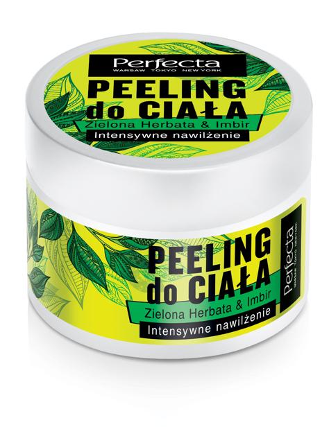 """Perfecta Spa Peeling do ciała Zielona Herbata & Imbir - intensywne nawilżenie  225g"""""""