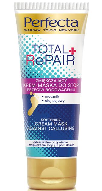 Perfecta Total Repair Krem-maska do stóp przeciw rogowaceniu 100 ml
