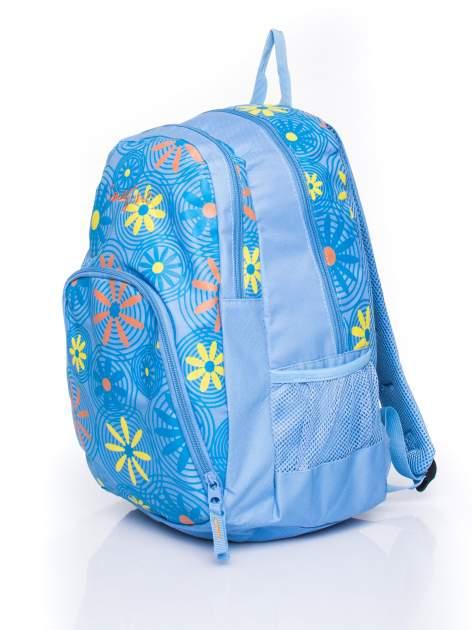 Plecak szkolny DISNEY z motywem kwiatowym                                  zdj.                                  2