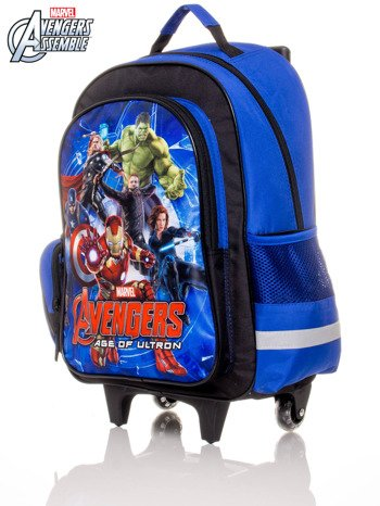 Plecak szkolny na kółkach z nadrukiem AVENGERS