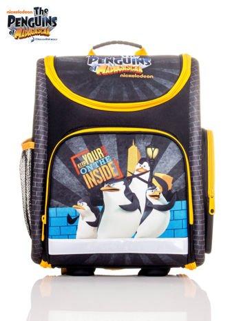 Plecak szkolny z motywem Pingwiny z Madagaskaru