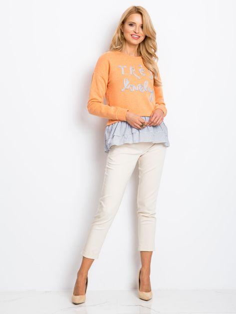 Pomarańczowa bluza Lucky                              zdj.                              4