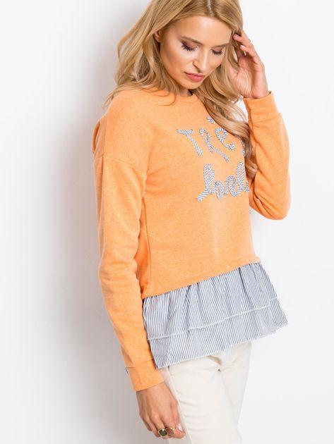 Pomarańczowa bluza Lucky                              zdj.                              3