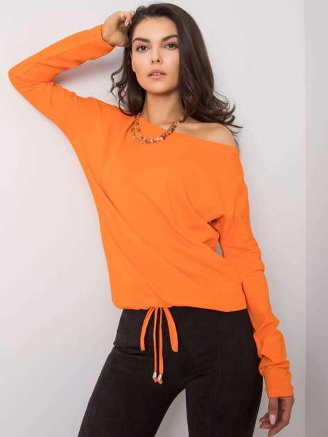 Pomarańczowa bluzka Carla