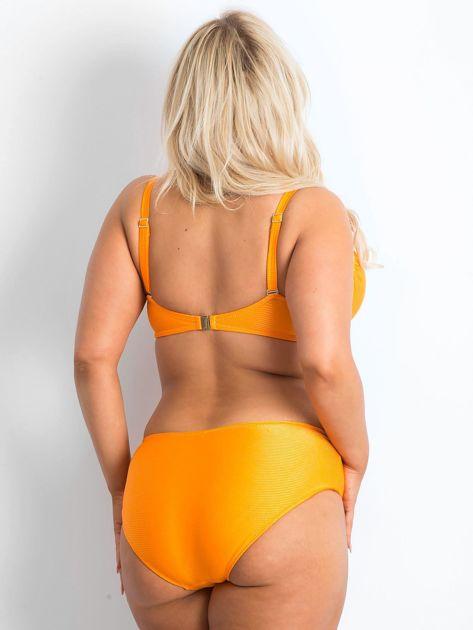 Pomarańczowy kostium kąpielowy plus size Brillance                              zdj.                              2