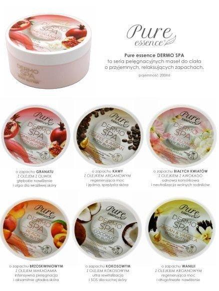 Pure Essence Masło do ciała DERMO SPA OLEJEK ARGANOWY & WANILIA 200ml                              zdj.                              2