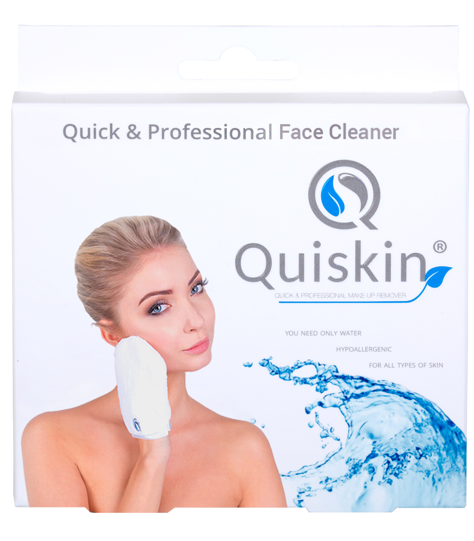 Quiskin Quick & Professional Face Cleaner Rękawica do mycia twarzy