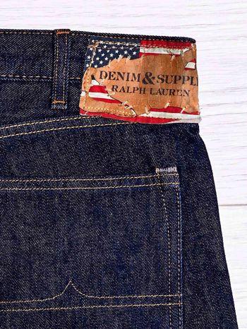 RALPH LAUREN Ciemnoniebieskie spodnie jeansowe męskie                                  zdj.                                  3