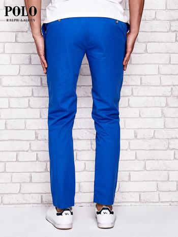 RALPH LAUREN Niebieskie spodnie męskie                              zdj.                              3