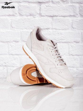 REEBOK Beżowe buty sportowe męskie CL LEATHER SG                              zdj.                              4