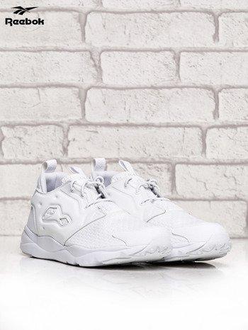 REEBOK białe buty Furylite o futurystycznym kształcie