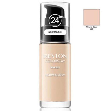 REVLON ColorStay podkład z pompką do skóry normalnej i suchej z kompleksem SoftFlex 220 Natural Beige 30ml                              zdj.                              1