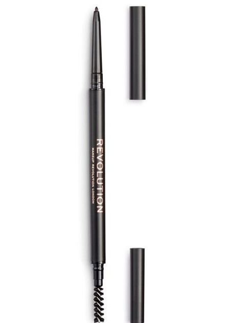 REVOLUTION Kredka do brwi Precise Brow Pencil Dark Brown
