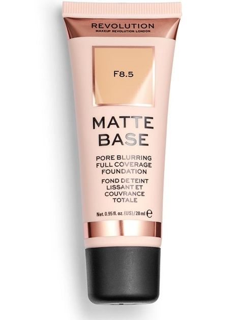 REVOLUTION Matte Base Foundation Kryjący podkład matujący F8.5 28 ml