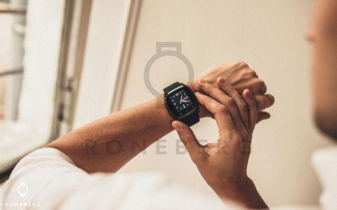 RONEBERG Smartwatch RM26 Współpracuje z Android oraz iOS Powiadomienia Połączenia Krokomierz Monitor snu Niebieski                              zdj.                              5