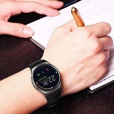 RONEBERG Smartwatch RY1B Współpracuje z Android oraz iOS Powiadomienia Połączenia Krokomierz Czarny                              zdj.                              4