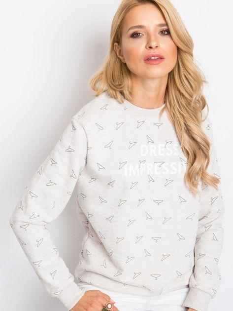 RUE PARIS Beżowa bluza Savannah