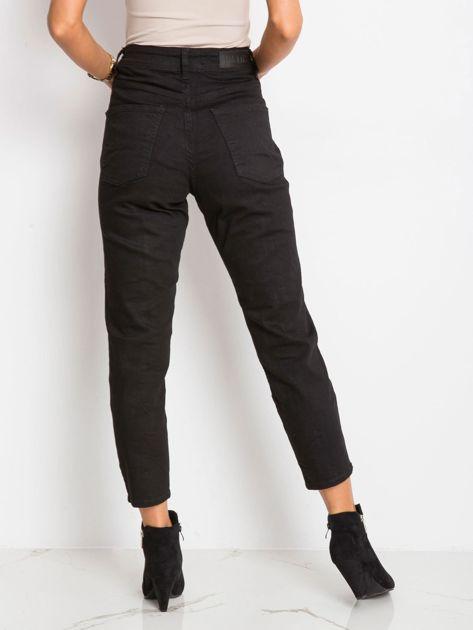 RUE PARIS Czarne spodnie Harlow                              zdj.                              5