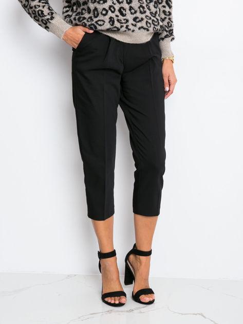RUE PARIS Czarne spodnie Marvel