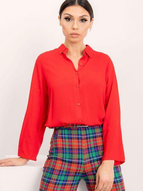 RUE PARIS Czerwona koszula Devay