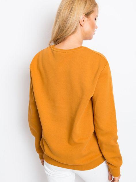 RUE PARIS Jasnobrązowa bluza Becky                              zdj.                              2