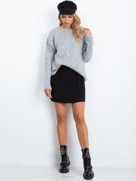 RUE PARIS Szary sweter Tiffany                              zdj.                              4