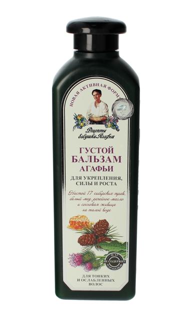Receptury Babci Agafii Balsam do włosów Ziołowy GĘSTY wzmacniający włosy cienkie 350 ml