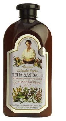 """Receptury Babuszki Agafii Płyn do kąpieli  ziołowy relaksujący 500 ml"""""""