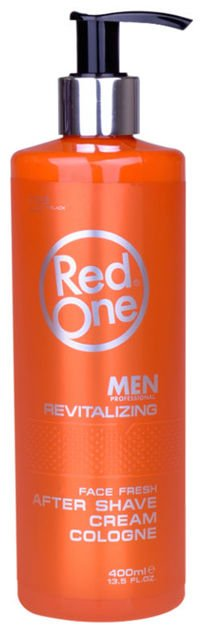 RedOne AFTER SHAVE CREAM COLOGNE ORANGE WODA KOLOŃSKA W KREMIE 150 ML