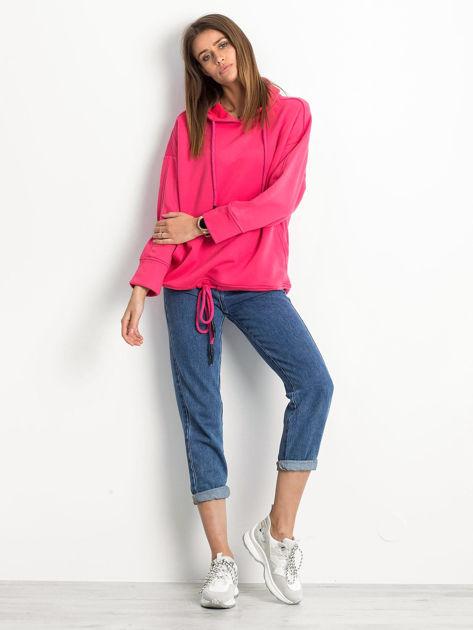 Różowa bluza Replicating                              zdj.                              4
