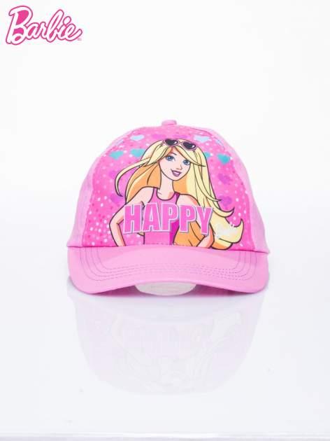 Różowa czapka z daszkiem dla dziewczynki BARBIE                                  zdj.                                  1