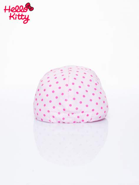 Różowa czapka z daszkiem dla dziewczynki HELLO KITTY                              zdj.                              3