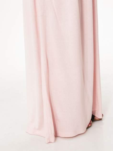 Różowa długa spódnica maxi                                  zdj.                                  8
