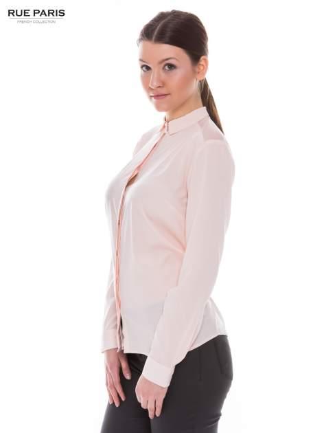 Różowa koszula z siateczkowym tyłem                                  zdj.                                  2
