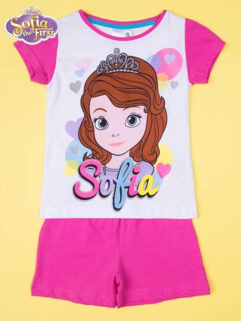 Różowa piżama dla dziewczynki JEJ WYSOKOŚĆ ZOSIA                                  zdj.                                  1