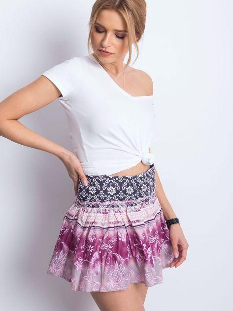 Różowa spódnica Unstructured                              zdj.                              3