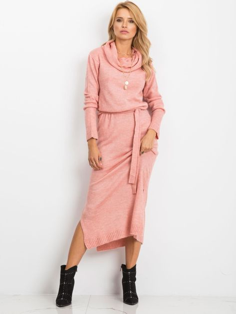 Różowa sukienka Peace                              zdj.                              4