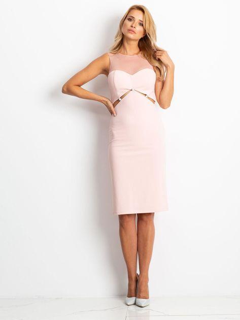 Różowa sukienka Vibes                              zdj.                              1