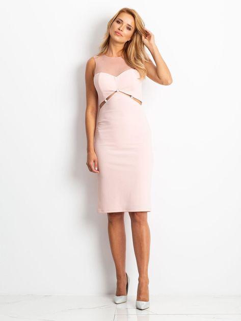 Różowa sukienka Vibes                              zdj.                              4