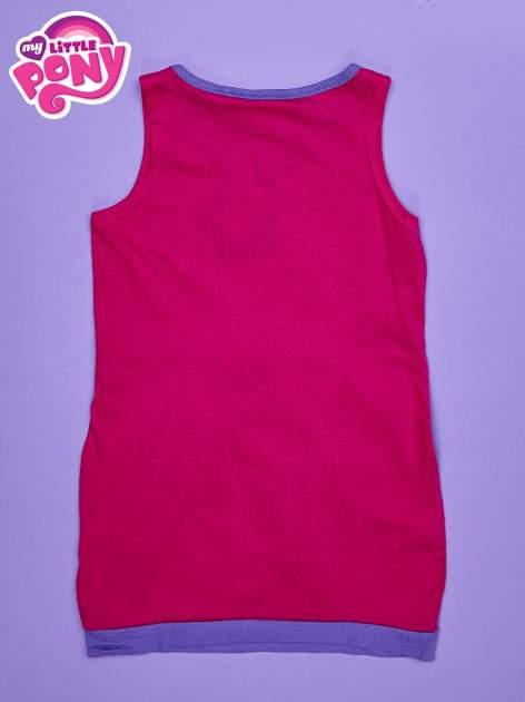 Różowa sukienka dla dziewczynki z kokardką i kieszonkami MY LITTLE PONY                                  zdj.                                  2