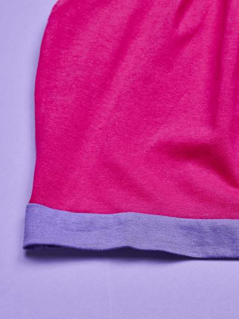 Różowa sukienka dla dziewczynki z kokardką i kieszonkami MY LITTLE PONY                                  zdj.                                  4