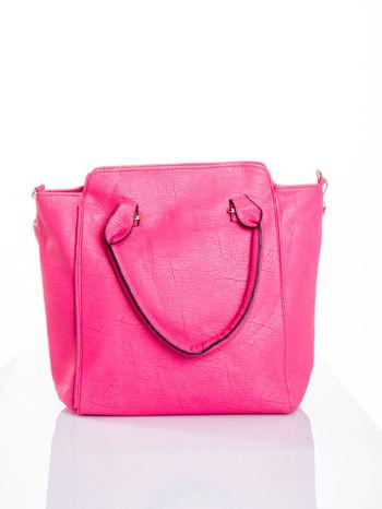 Różowa torba shopper bag                                  zdj.                                  1